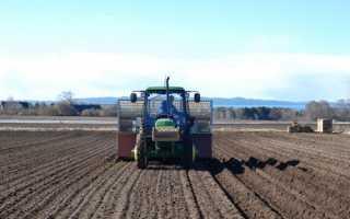 Предпосевная обработка почвы под посадку картофеля