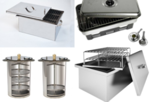 Домашняя коптильня для газовой плиты, какую выбрать